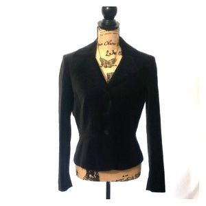 Tahari Arthur & Levine Women's Black Velvet jacket